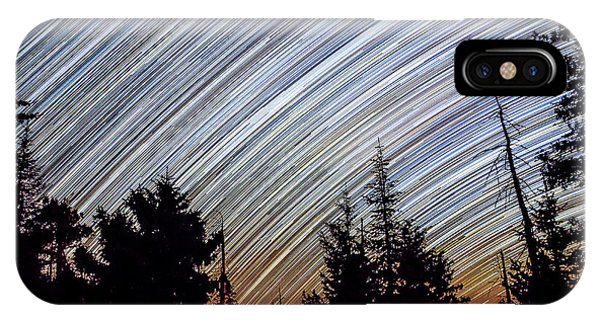 Star Trails From Mt. Graham IPhone Case