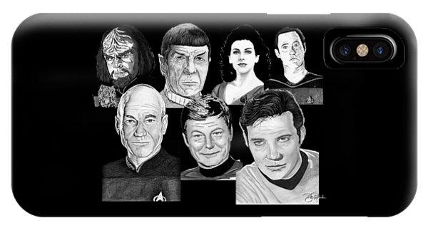 Star Trek Crew IPhone Case