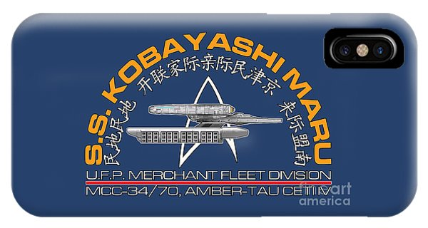 Star Trek -  Kobayashi Maru Crest IPhone Case
