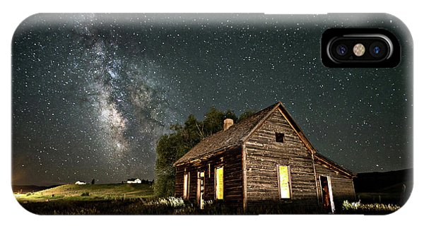 Star Valley Cabin IPhone Case