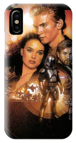 Star Wars Episode II - Attack Of The Clones 2002 IPhone Case