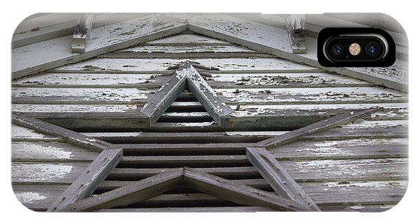 Timeworn iPhone Case - Star Window by Joseph Skompski
