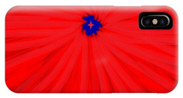 Starburst 2' By Sumi E Master Linda Velasquez IPhone Case