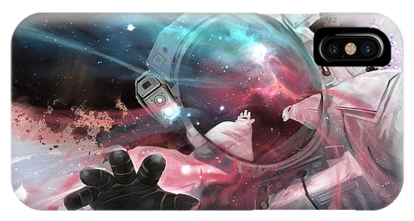 Astronaut iPhone Case - Stardust by Steve Goad