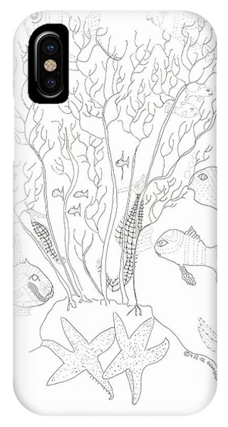 Starfish Dance And Fish Camouflage IPhone Case