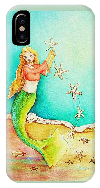 Starfish Mermaid IPhone Case