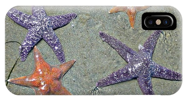 IPhone Case featuring the photograph Starfish Party by 'REA' Gallery