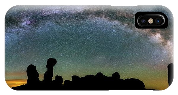 IPhone Case featuring the photograph Stargazing Family by Darren White