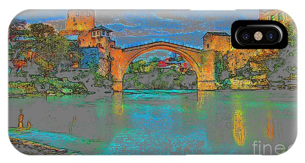 Mostar iPhone Case - Stari Most by Jasmin Hrnjic