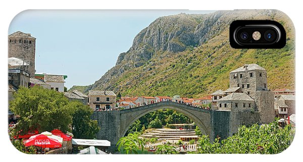 Mostar iPhone Case - Stari Most by Sally Weigand