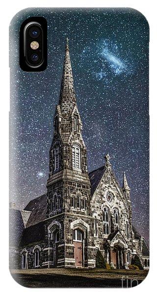 Scenic New England iPhone Case - Starlight by Evelina Kremsdorf