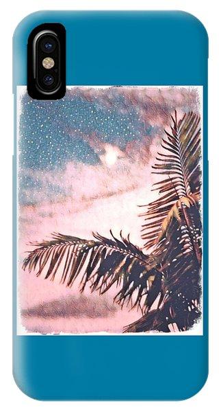 Starlight Palm IPhone Case