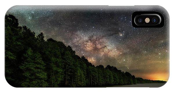 Starlight Swimming IPhone Case