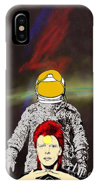 Starman Bowie IPhone Case