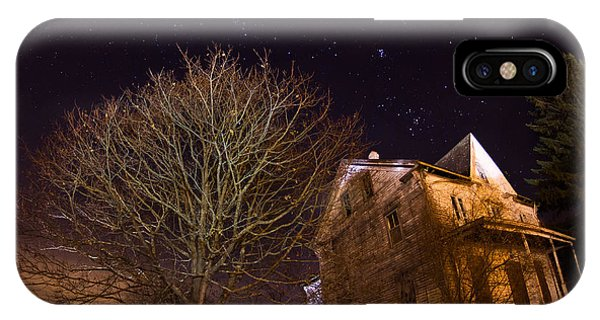 Starry Night Farmhouse IPhone Case
