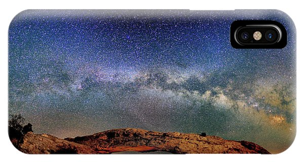 Starry Night Over Mesa Arch IPhone Case
