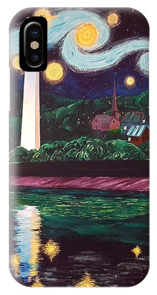 Starry Night With Little Joe IPhone Case