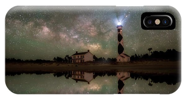 Starry Reflections IPhone Case