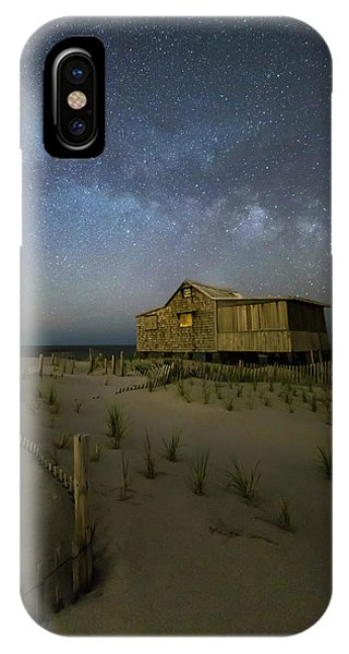 Starry Skies And Milky Way At Nj Shore IPhone Case