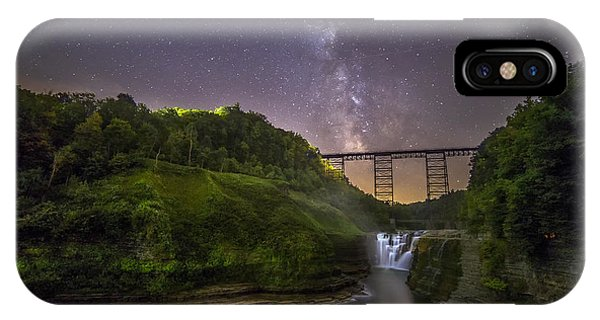Starry Sky At Letchworth IPhone Case