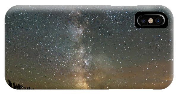 IPhone Case featuring the photograph Starry Starry Night by Paul Schultz