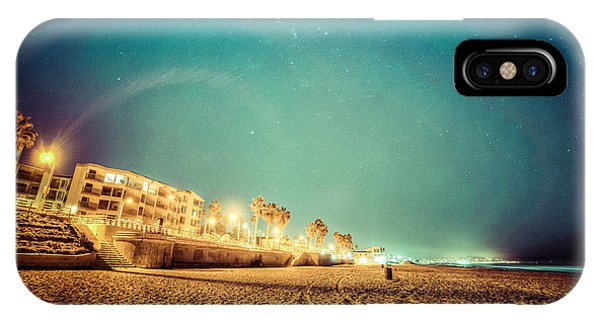 Starry Starry Pacific Beach IPhone Case