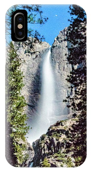 Starry Yosemite Falls IPhone Case