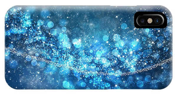 Background iPhone Case - Stars And Bokeh by Setsiri Silapasuwanchai