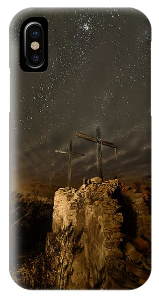 Stars And Crosses IPhone Case