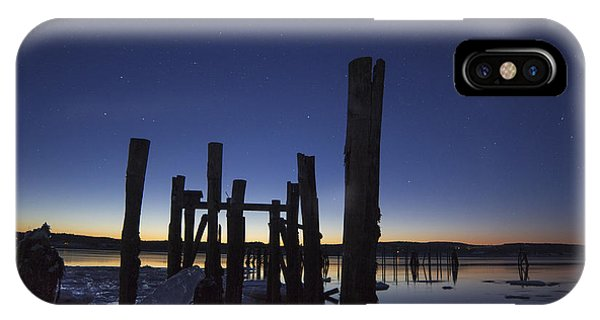 Stars At Sandy Point Sunrise  IPhone Case