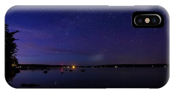 IPhone Case featuring the photograph Stars Over Branch Lake by Kirkodd Photography Of New England