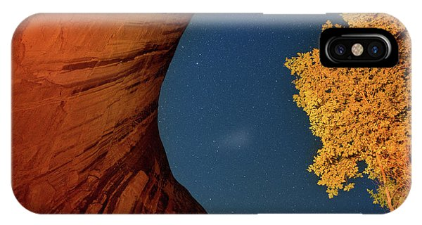Stars Over Canyon IPhone Case