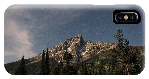 Stars Over Grand Teton IPhone Case