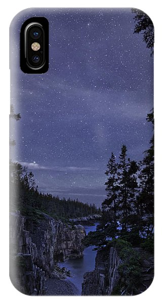 Stars Over Raven's Roost IPhone Case