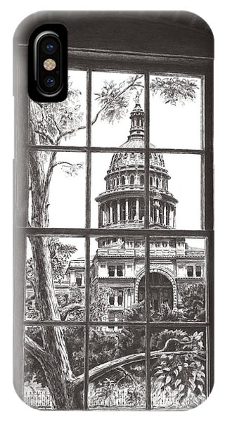 Capitol Building iPhone Case - State Capitol Of Texas by Norman Bean