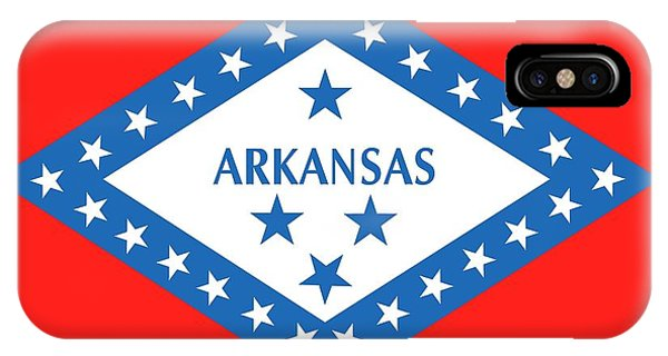 State Flag Of Arkansas IPhone Case