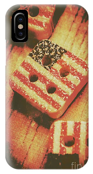 American Flag iPhone Case - State Of Amendments by Jorgo Photography - Wall Art Gallery