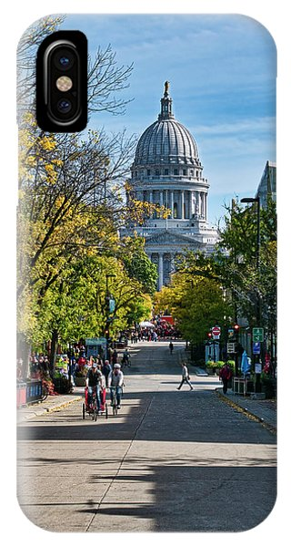 State Street - Madison - Wisconsin IPhone Case