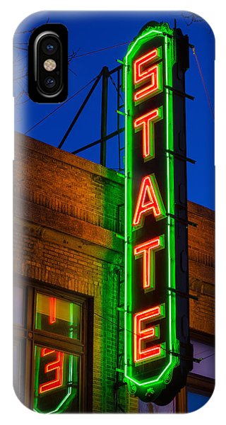 State Theatre - Ithaca IPhone Case
