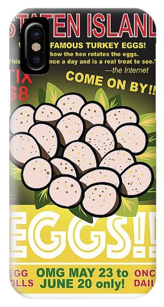 Staten Islands Eggs IPhone Case