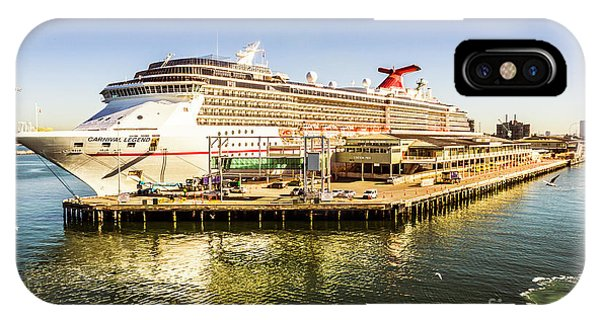 Luxury iPhone Case - Station Pier Cruise by Jorgo Photography - Wall Art Gallery