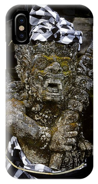 IPhone Case featuring the photograph Statue Formalwear by T Brian Jones