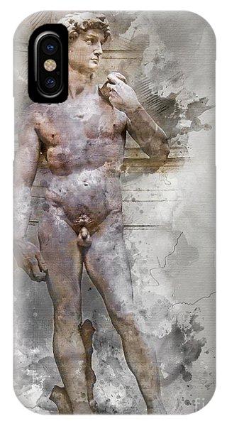 Statue Of David IPhone Case