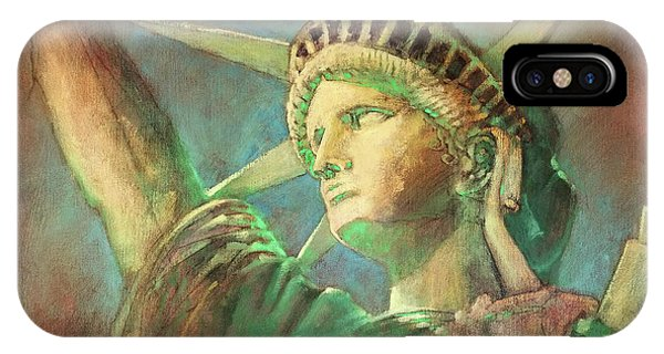 Statue Of Liberty 1 IPhone Case