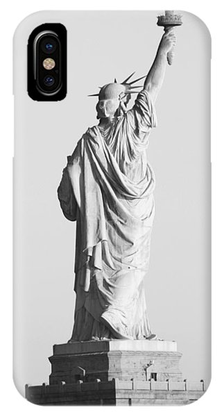 Sex And The City iPhone Case - Statue Of Liberty by Habib Ayat