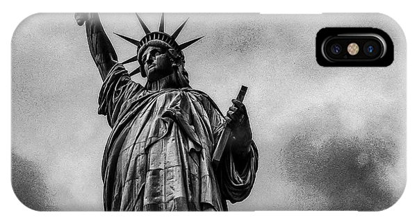 Statue Of Liberty Photograph IPhone Case