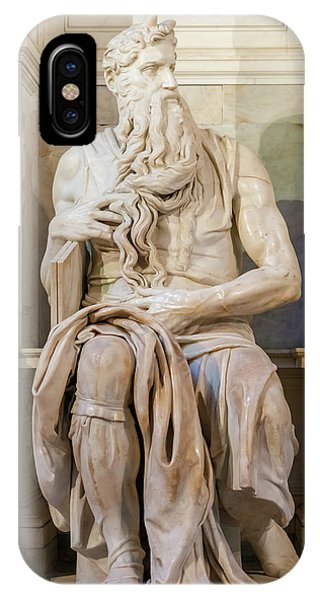 Statue Of Moses IPhone Case