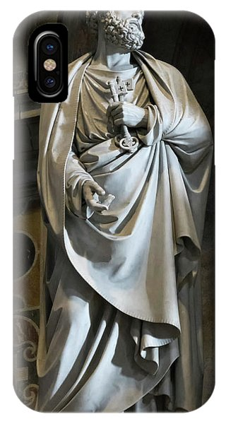 Statue Of Saint Peter Phone Case by Vyacheslav Isaev