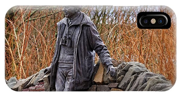 Statue Of Tom Weir IPhone Case