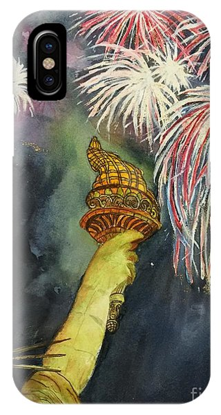Statute Of Liberty IPhone Case
